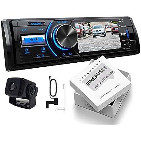 Jvc Kd X561dbt 1 Din Dab Media Receiver Farbdisplay Elektronik
