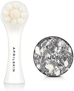 Aprilskin Pore Cleaner SET - K beauty Deep cleanse All-Kill Pore Brush 1ea, Signature Soap Original