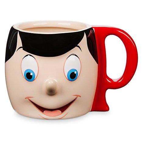 Disney Pinocchio 3 D Becher Kaffee Tee Tasse Cup Tazza Taza Neu