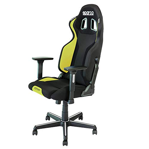 Sparco Grip 2019 Gaming-Stuhl/Bürostuhl, Schwarz