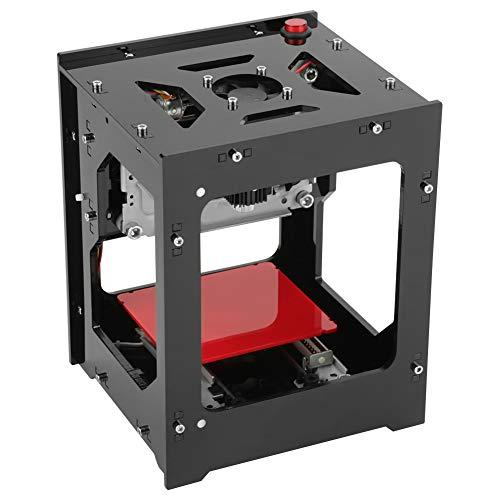 Akozon NEJE Laser Gravur gravierer Drucker, Graviermaschine 1500mW 490x490 Pixel,Dual-USB-Buchse, Acryl-Filter mit magnetischer Absaugung, EIN-klick-Bedienung, Keine Notwendigkeit von G-Code
