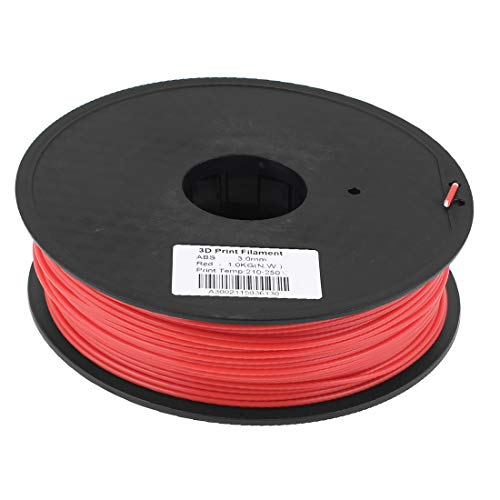 New Lon0167 Red 3mm Featured ABS 1kg/2.2lb 3D Reliable Efficacy Printer Filament for RepRap Ultimaker Makerbot(id:8c0 5d 7f eae)
