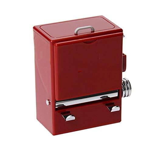 WZHZJ Retro de la Personalidad palillo de Dientes Caja expendedora Estilo máquina de prensado Ornamento palillero dispensador de la Caja de plástico