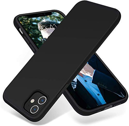 "wsky Hülle Kompatibel mit iPhone 12 / iPhone 12 Pro (6.1\""), Schwarz Anti Kratzer Anti-Fingerabdruck Stoßabsorbierend Handyhülle, Ultradünn TPU Silikonhülle, Anti-Scratch Schutz Case - Black"