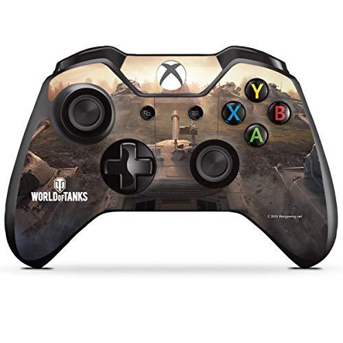DeinDesign Skin kompatibel mit Microsoft Xbox One Controller Folie Sticker World of Tanks Spiel Gamer