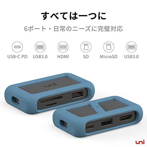 411c2+kwjKL-「uni USB Type-C HUB 8ポート」を購入したのでレビュー!Chromebookにちょうど良いUSB-Cハブ