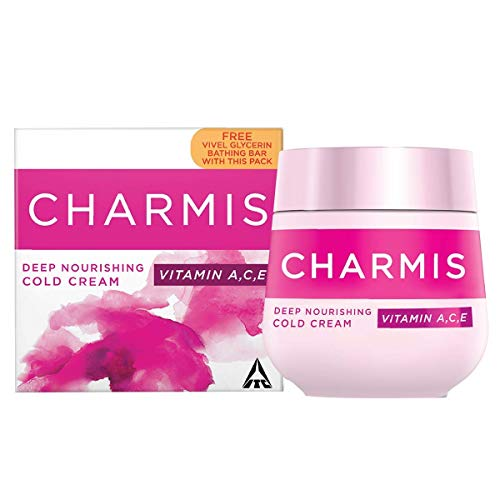 Charmis Cold Cream 100ml + 75g Vivel Glycerine, 100 ml with Soap