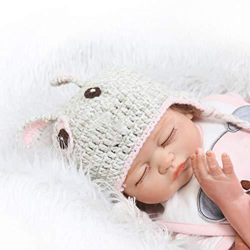 Zero Pam 20inch Alive Silicone Ganzkörper Reborn Baby Girl Dolls Waschbar
