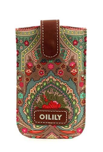 Oilily Winter Ovation Smartphone Pull Hülle Biscuit, Biscuit (Braun), Breite 8,7 cm, Höhe 13,5 cm, Tiefe 0,5 cm