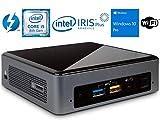Intel NUC NUC8i5BEK Mini PC/HTPC, Intel Quad-Core i5-8259U Upto 3.8GHz, 8GB DDR4, 256GB m.2 SSD, WiFi, Bluetooth, Thunderbolt 3, 4k Support, Dual Monitor Capable, Windows 10 Pro (8GB Ram + 256GB SSD)