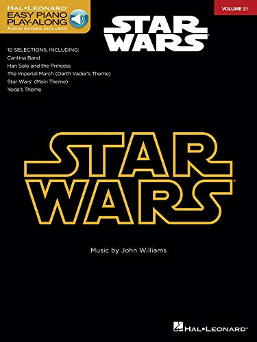 Star Wars (Easy Piano) Piano +Enregistrements Online: Easy Piano Play-Along Volume 31