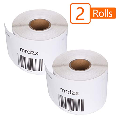 "2 Roll Compatible Dymo 30323 Large Shipping Labels, 2-1/8""x4"" Direct Thermal LW Standard Shipping Labels & Address Label for Writer Label Printers 400, 450,450 Turbo, Bright White, 240 Labels Per Roll"