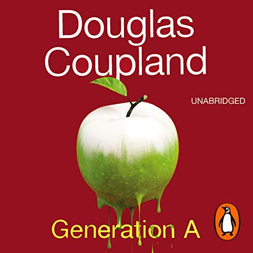 Generation A                   By:                                                                                                                                 Douglas Coupland                               Narrated by:                                                                                                                                 Anthony Barclay,                                                                                        Christopher Simpson,                                                                                        Drew Marquardt,                   and others                 Length: 8 hrs and 37 mins     8 ratings     Overall 3.5