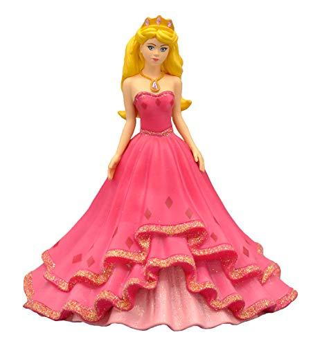 Bullyland 80754 - Spielfigur, Prinzessin Sabia mit Glitzersteinen, ca. 10 cm, ideal als Torten-Figur, detailgetreu, PVC-frei, tolles Geschenk für Kinder zum fantasievollen Spielen