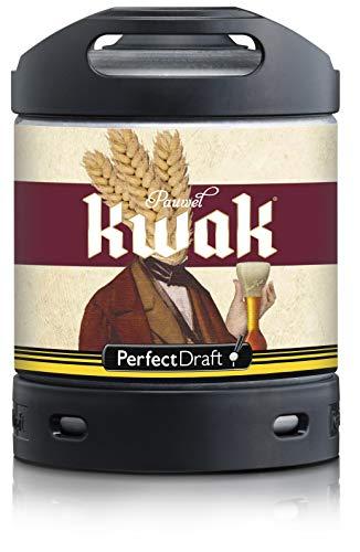 Bier PerfectDraft 1 x 6-Liter Fass Pauwel Kwak Bier - Starkes Ales. Zapfanlage für Zuhause. Inklusive 5euros Pfand.