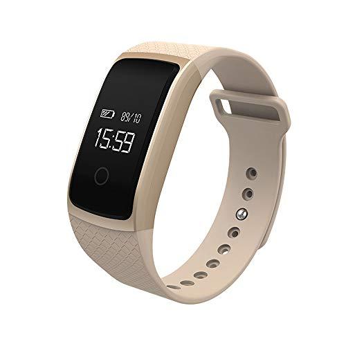 Nieuwe Smart-Watch bloeddruk- hartslaghorloge Riemen. goud