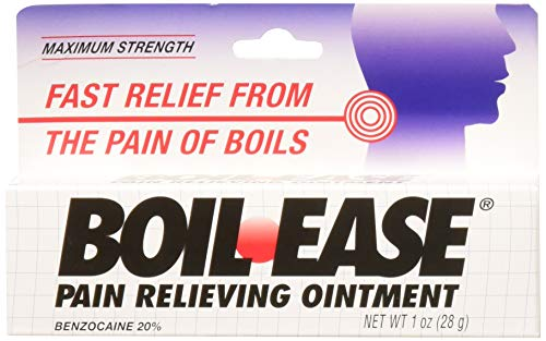 Boil-Ease Ointment Maximum Strength 1 oz (Pack of 2)