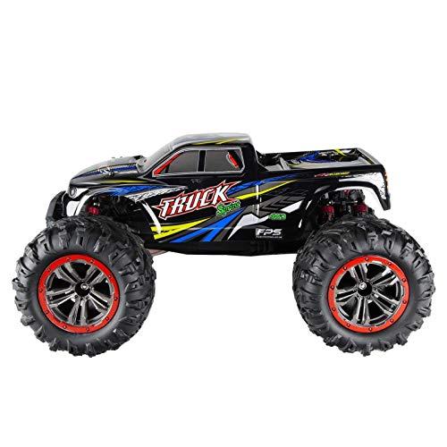 RC Auto kaufen Monstertruck Bild 3: RC Monstertruck 1:10 FPS V10 Offroad Elektro Auto - Dual Motor bis zu 50 km/h - 4WD - Allradantrieb, IPX4 Wasserdicht, 34cm, Differentiale, 2.4G Fernbedienung, 2 Speed Modes, inkl. 2x LiPo Akku, 4x AA*