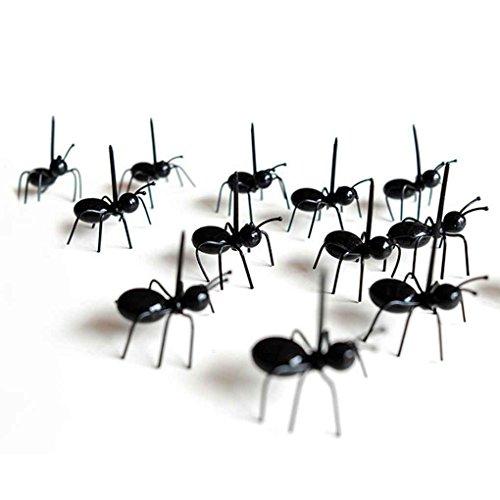 FBlue 12pcs / Set de Recogida de Alimentos Mini Ant Fruta Te