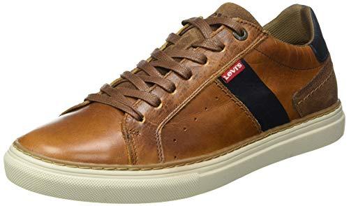 LEVIS FOOTWEAR AND ACCESORIAS BAKER 2.0 - Zapatillas para hombre, marrón, 43