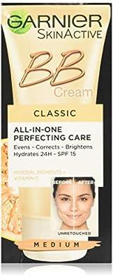 Garnier BB Cream Original Medium Tinted All -In- One Perfecting Care Cream, 50 ml