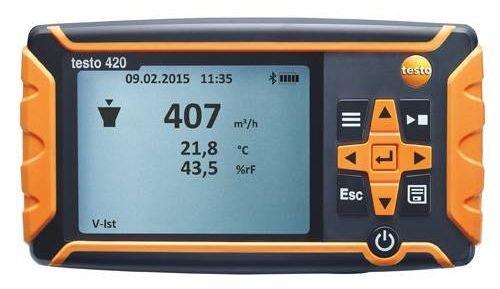 Testo SE & Co.KGaA 0560 0420 testo 420-Differenzdruckmessgerät für 0.120 Pa