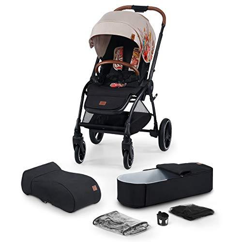 Kinderkraft Kinderwagen 2 in 1 EVOLUTION COCOON, Kinderwagenset, Kombikinderwagen, Sportwagen, mit Tragewanne,...