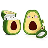LEWOTE - Custodia Protettiva in Silicone per Airpods Apple 1 e 2 [design frutta e verdura]...