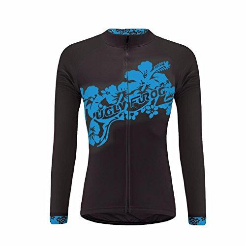 UGLY FROG MTB Neuester Winter Lange Ärmel Trikots Thermisches Damen Thermo Jersey Fahrrad Bekleidung Triathlon Shirt ZO08