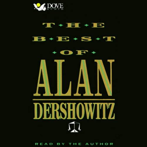 The Best of Alan Dershowitz audiobook cover art