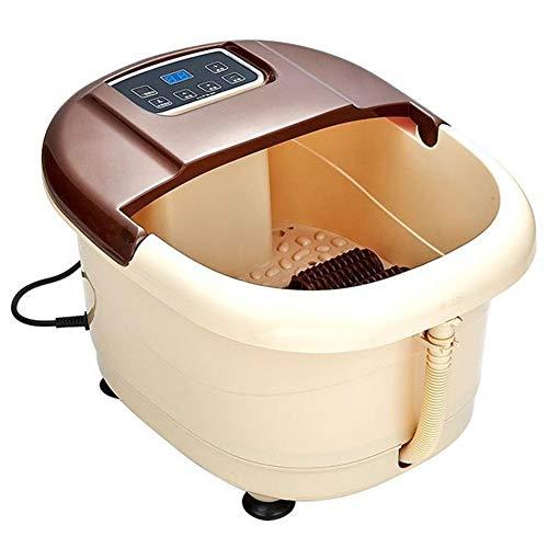 XQAQX voetmassageapparaat Foot Spa massageapparaat Elektro Surfen Massage Rood licht bestraling Intelligent Control-scherm Anti-lekkage Waterdicht voet Batih Massage