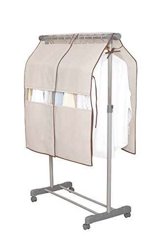 東和産業 『衣類収納 Poleco ハンガーラック カバー M』
