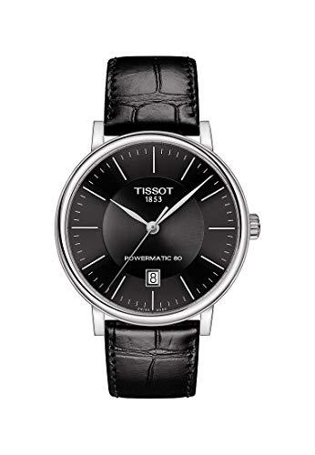 Tissot Herren-Uhren Analog Automatik One Size Leder 87603679