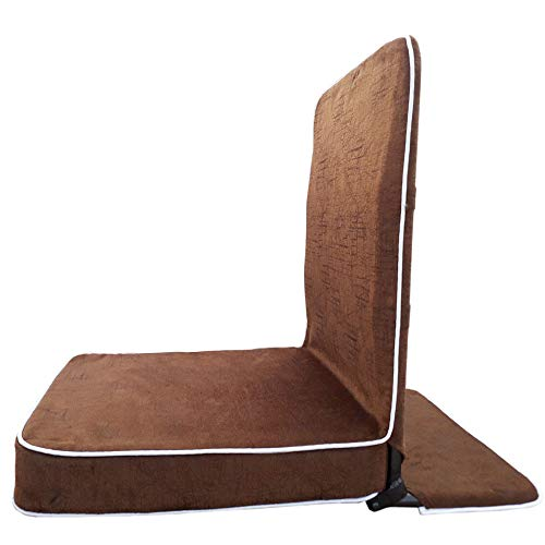 Halonix Meditation & Yoga Chair with Back Support/Relaxing Chair (19 x 17 x 3 Inch) Maroon