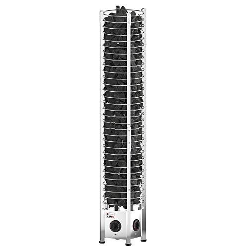 Sawo Tower Round TH2 3kW Elektrische Saunaofen mit integrierte Steuerung (NB-Modell)