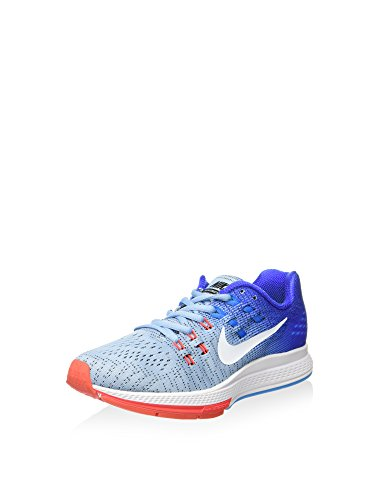 Nike Damen Air Zoom Structure 19 Traillaufschuhe, blau, 38.5 EU