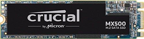 Crucial MX500 250GB CT250MX500SSD4-bis zu 560 MB/s (3D NAND, SATA, M.2 Type 2280SS, Internes SSD)