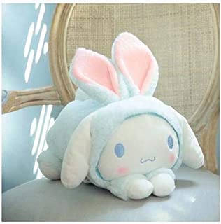 1Pc 32Cm Cute My Melody Cinnamoroll Dog Rabbit Hat Plush Doll Hold Pillow Rest Cushion Girl Birthday Stuffed Toy Must Haves For Kids 1 Year Old Girl Gifts Childrens Favourites 5T Superhero Girls