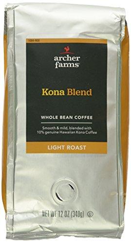 Archer Farms Whole Bean Coffee Kona Blend 12oz