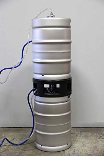 Price comparison product image Half-Barrel Keg Spacer - Safely Stack Half-Barrel Kegs and Tap Both the Top Keg and Bottom Keg - Double the Floor Space of Your Walk-In Cooler