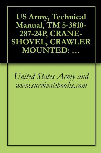 US Army, Technical Manual, TM 5-3810-287-24P, CRANE-SHOVEL, CRAWLER MOUNTED: DIESEL ENGINE DRIVEN, 1