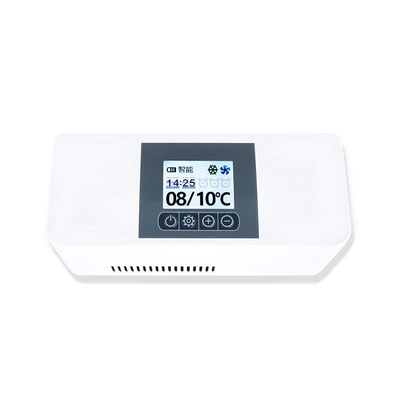 心理学ヒューズ維持Xyanzi ミニ冷蔵庫 旅行薬剤冷却装置、小型インシュリンのより涼しい車の冷却装置は糖尿病の薬物を保ち、涼しく、絶縁された冷凍車の小さい冷却装置を保ちます