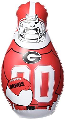 Fremont Die NCAA Georgia Bulldogs Bop Bag Inflatable Tackle Buddy Punching Bag, Standard: 40