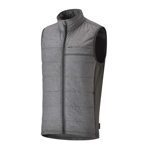 Shimano - Chaleco para hombre Transit Pavement, gris oscuro, talla L