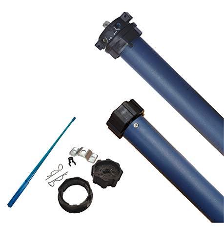Rollladenmotor/Rollladenantrieb, 10 Nm, max. 23 kg, für 60 mm 8-Kantwelle, mechanische Endschalter (1 ST)