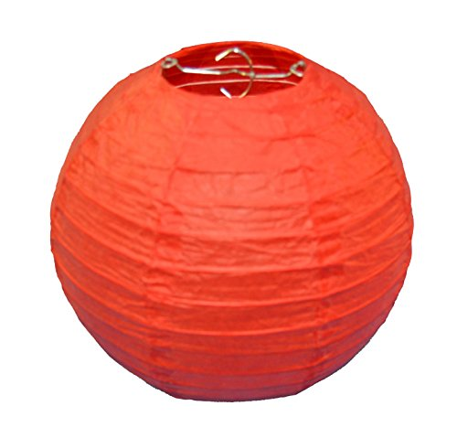 3 rouge Chinese Lantern Paper Taille Petite 20,32 cm Thepaperbagstore™