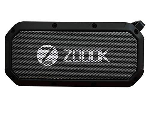 Zoook Bass Warrior Portable Wireless Bluetooth Speaker with Mic (Black)