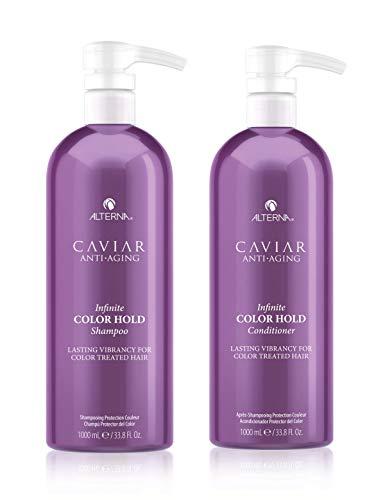 Alterna Caviar Infinite Color Hold Champú y Acondicionador 1000 ml Duo