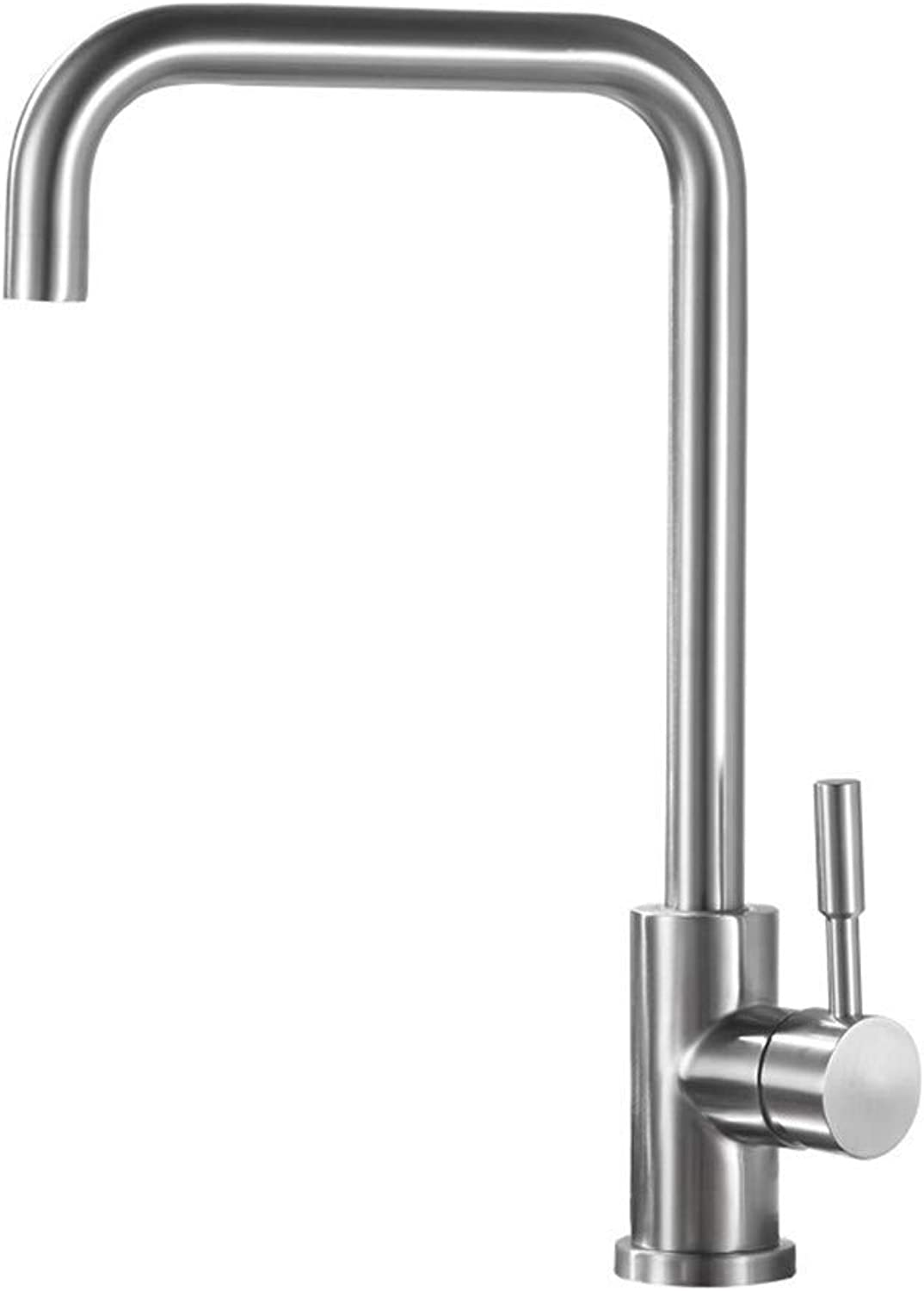 Oudan Twentysomething Caipen Kitchen Faucet Sink Faucet Brushed Stainless SteelS65-UE6589321792 (color   -, Size   -)