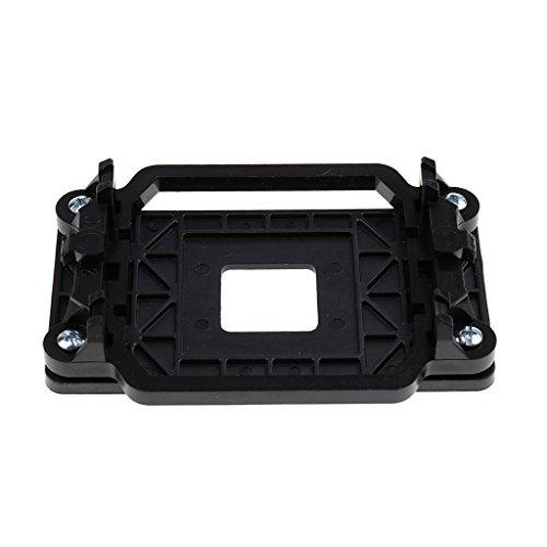 Gazechimp AM2 AM3 AM2 + Enfriador De CPU Disipador De Calor Soporte De Ventilador Soporte De Montaje En Base Soporte Negro
